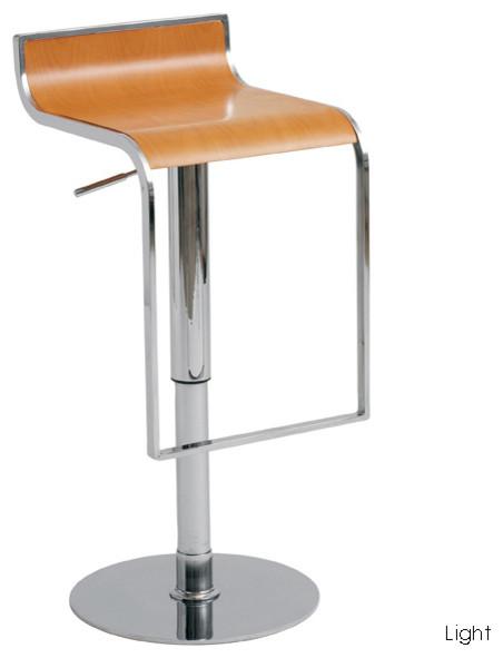 nero bar stool light wood modern bar stools and