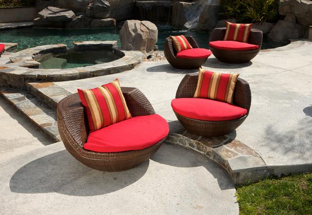 Cantina 5 Piece Outdoor Seating Set Outdoor Lounge