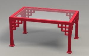 Manchester Chippendale Coffee Table by The Well Appointed House asian-outdoor-coffee-tables