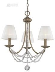 Traditional / Classic Chandeliers at Deep Discount - Golden Lighting 7644M3GA -