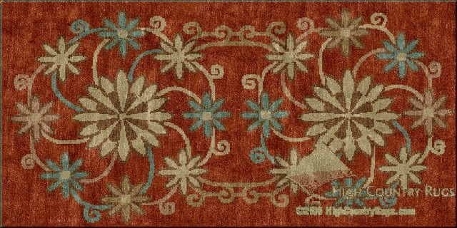 Transitional Custom Rug Designs traditional-rugs
