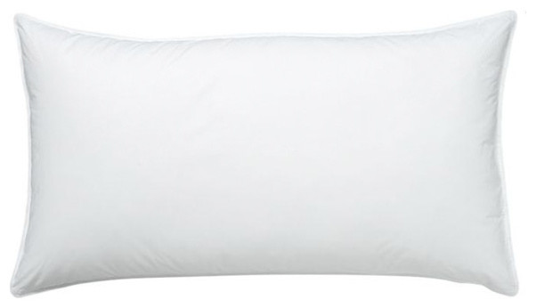 cuddledown 50 50 white duck feather and down pillow soft