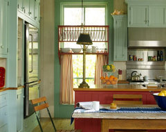Fish camp beach cottage shabby chic kitchen by for Fish camp house plans