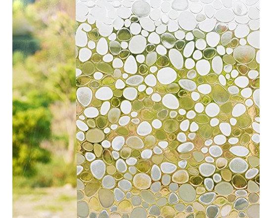 No-Glue Static Decorative Privacy Window Films - Instruction: