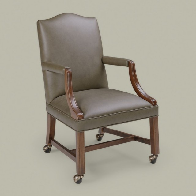 clarke desk chair - traditional - chairs - - by Ethan Allen