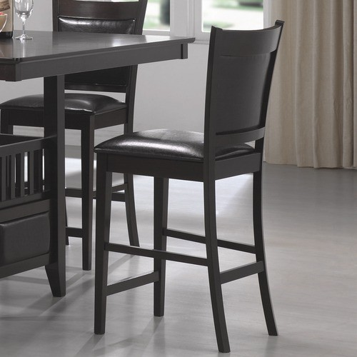 Forsan Counter Height Barstool in Cappuccino Set of 2  : modern bar stools and counter stools from www.houzz.com size 500 x 500 jpeg 47kB