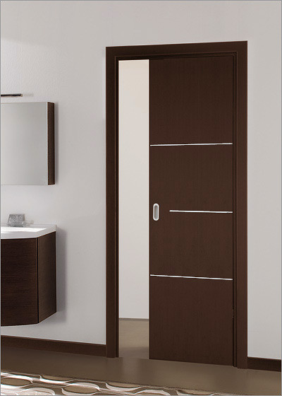 Milano 1m5 interior door contemporary interior doors for Modern interior doors