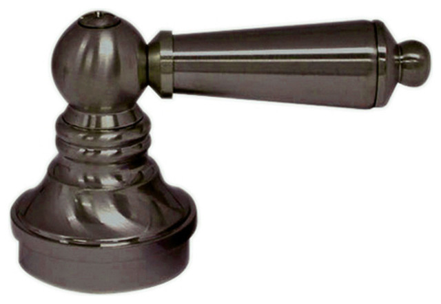 Shop Millennium Lighting 6 Light Rubbed Bronze Standard: Universal Faucet Lever Handle In Oil Rubbed Bronze