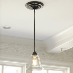 Glass Pendant Shade Adapter for Recessed Can Lights - Ballard Designs