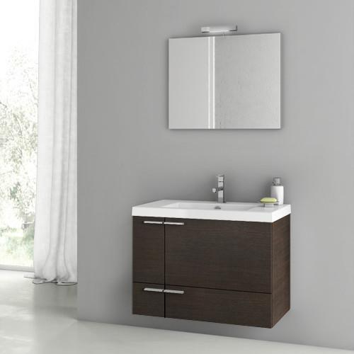 31 inch wenge bathroom vanity set contemporary