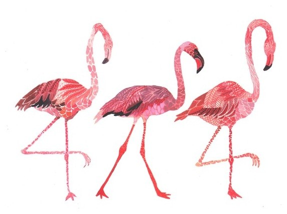 All The Single Ladies - Archival Print tropical artwork