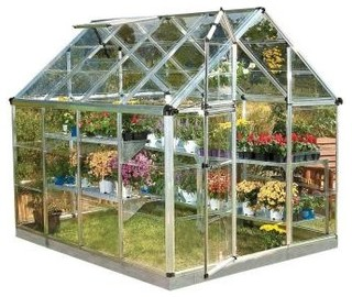 Palram Polycarbonate Greenhouse - Modern - Greenhouses - by Home Depot