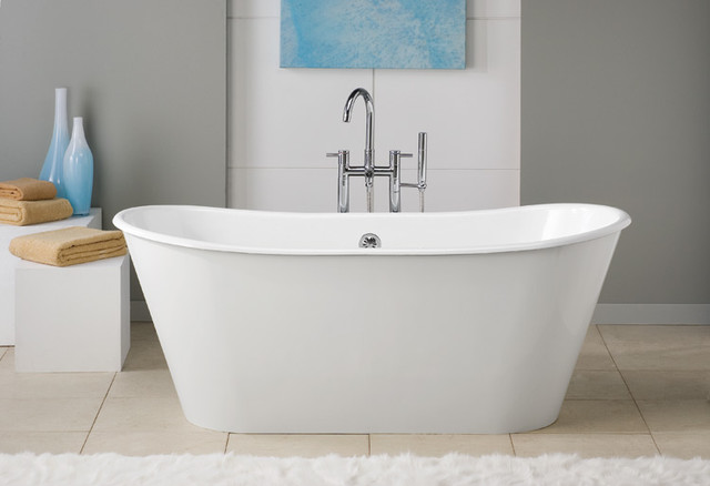 ... Iron Pedestal Tub - Traditional - Bathtubs - by Vintage Tub & Bath