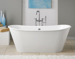 Cheviot Cast Iron Pedestal Tub traditional-bathtubs
