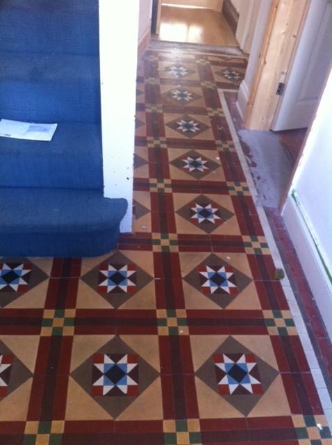 Victorian Hallway Flooring Dilema
