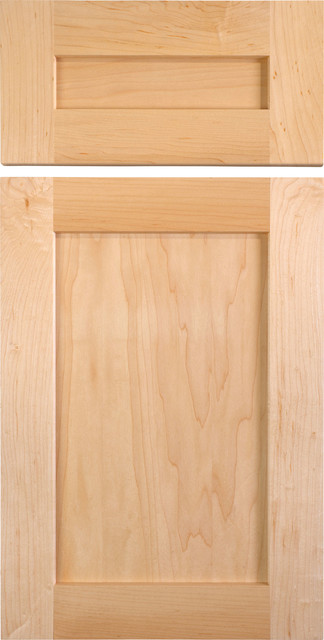 Shaker Style Cabinet Doors in Maple - Traditional - Kitchen Cabinetry ...