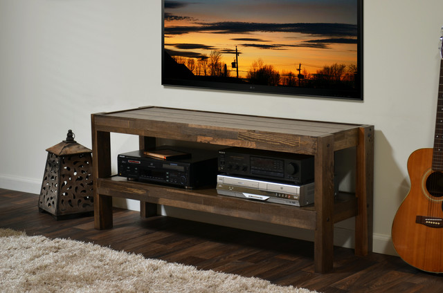 Reclaimed Pallet Barn Wood Style Tv Stand Presearth