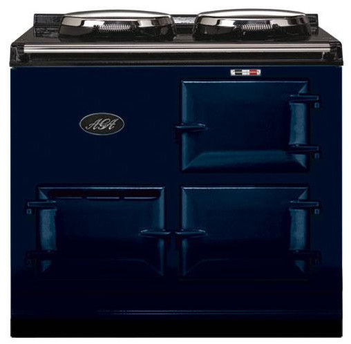 AGA 2 Oven Natural Gas Cooker With Module, Dark Blue | A2O-DV-MOD-NG-DBL - Gas Ranges And ...