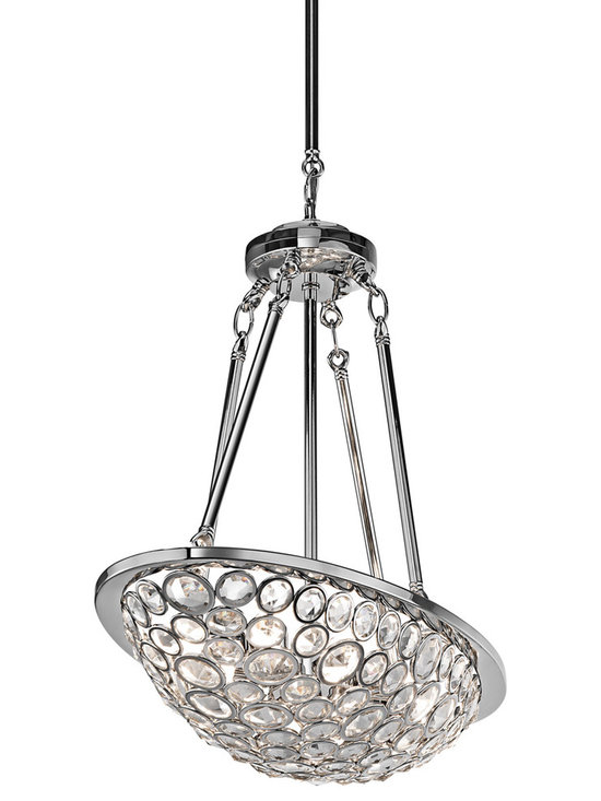 Oval Chandeliers - Kichler Liscomb Oval Chandelier - 42671CH