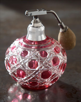 Pink Atomizer, c. 1930 traditional home fragrance