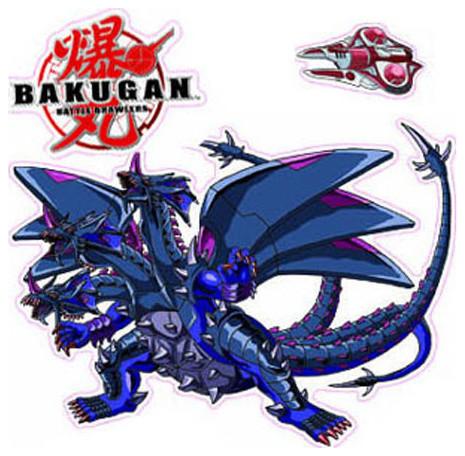 Bakugan Battle Brawlers Anime Wall Decor Stickers Set contemporary-wall-decals
