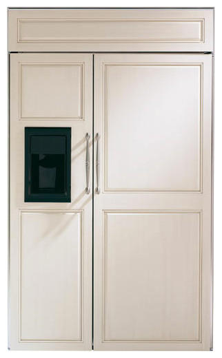 Ge Monogram 48 Quot Built In Side By Side Refrigerator With
