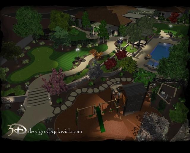WILLIAMSON 3D DESIGN traditional-rendering