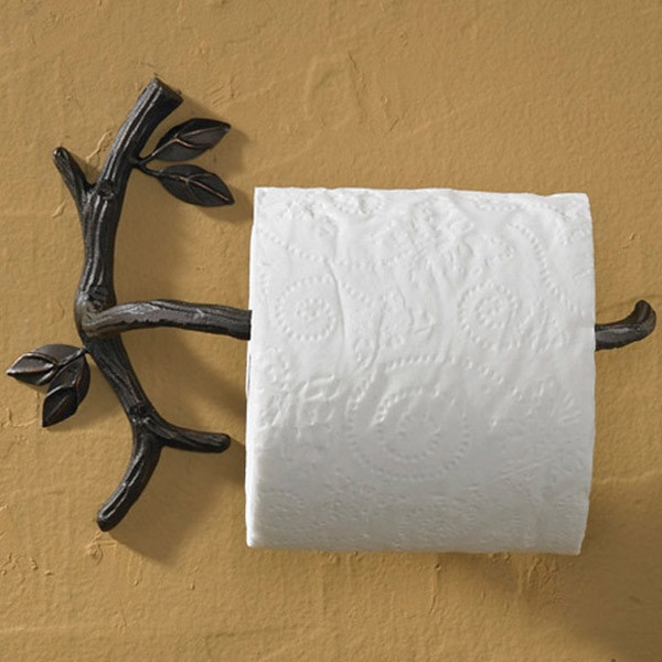 Natures walk toilet paper holder eclectic toilet paper Kids toilet paper holder