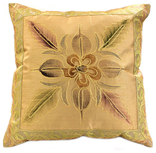 How To Make Decorative Throw Pillow Covers : Decorative Pillow Covers - Eclectic - Decorative Pillows - boston - by Banarsi Designs