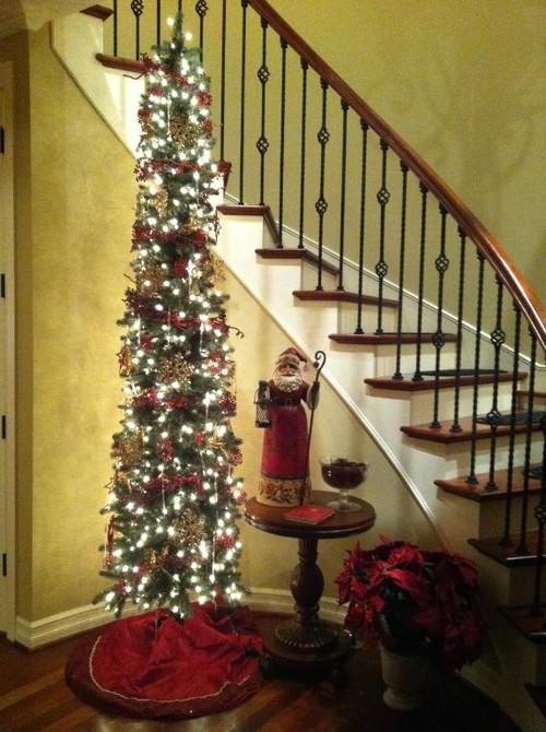 Balsam Hill's exquisite Sonoma Slim Artificial Christmas Tree
