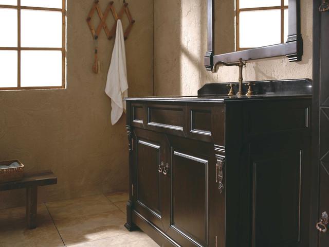 "48"" Catania Single Bath Vanity - Burnished Mahogany traditional-bathroom-vanities-and-sink-consoles"