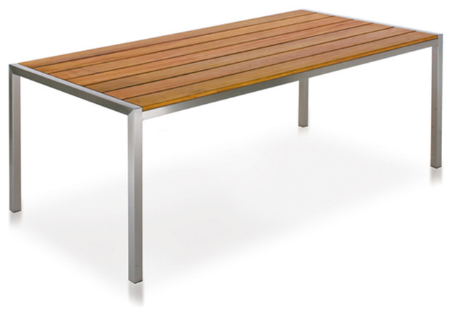 Harbour Outdoor Garden Court Dining Table modern-dining-tables