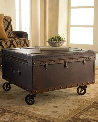 Trunk Coffee Table traditional-coffee-tables