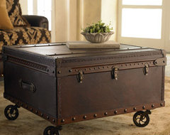 Trunk Coffee Table traditional coffee tables