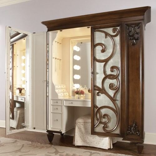 Jessica McClintock Couture Bedroom Vanity Set traditional bathroom vanities and sink consoles