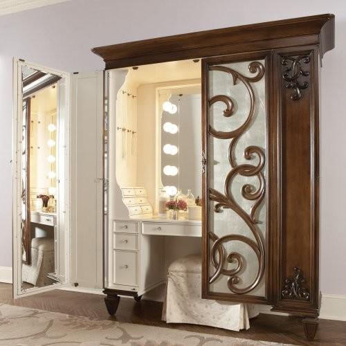 Jessica McClintock Couture Bedroom Vanity Set traditional-bathroom-vanities-and-sink-consoles
