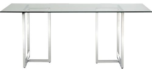 Silverado Rectangular Dining Table Modern Dining Tables By CB2