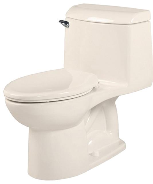 American Standard 2034.014.222 Champion Right Height 4 Elongated Toilet, Linen modern-toilets