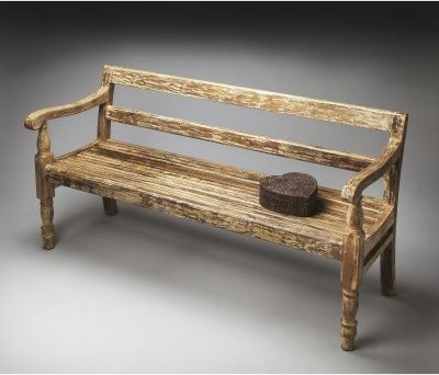 Butler Bench - Heritage - 61W in. modern-indoor-benches