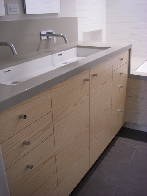 Master Bath Vanity contemporary bathroom