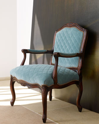 """""""Ocean Breeze"""" Chair traditional-living-room-chairs"""