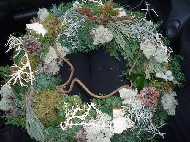 Christmas entry door decoration contemporary-entry