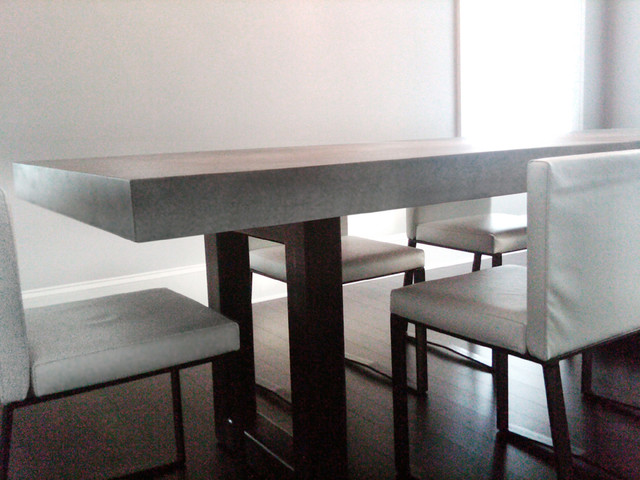 Zen Concrete Table contemporary dining tables