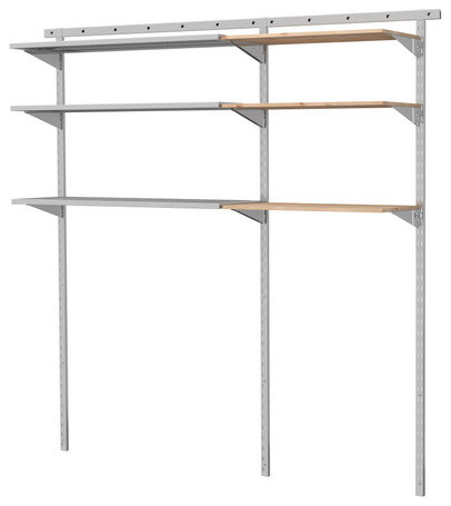 BRODER 2 sections/wall upright modern-wall-shelves