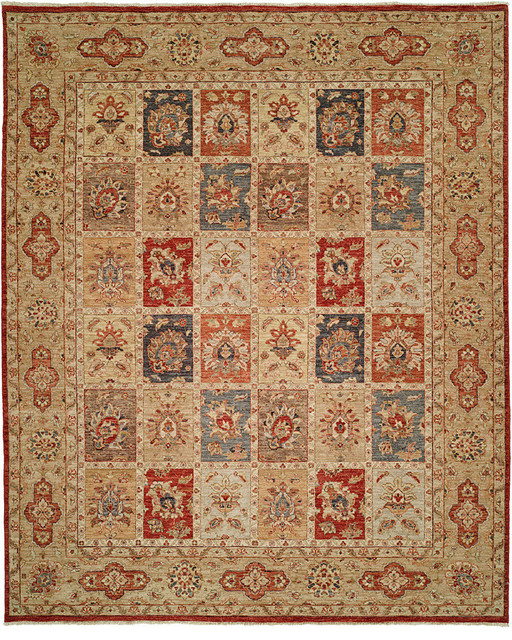 Royal Zeigler Handknotted Rug 6x9 Traditional Area