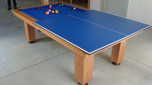 BILLARD TABLE WITH TOP for fun,eat and learn modern-dining-tables