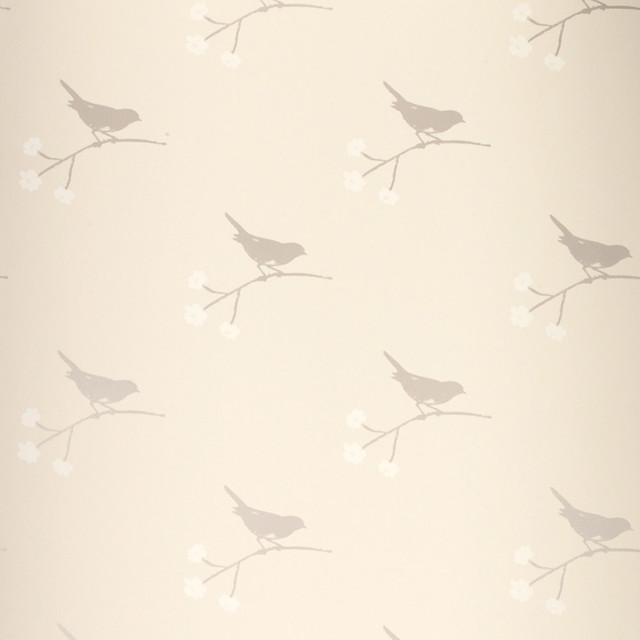 Laura Ashley Nightingale Wallpaper - Eclectic - Wallpaper - houston ...