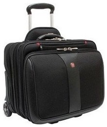 Wenger Patriot Rolling Case, Black contemporary