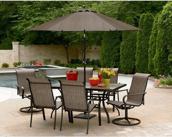 East Point Seven-Piece Outdoor Dining Set -