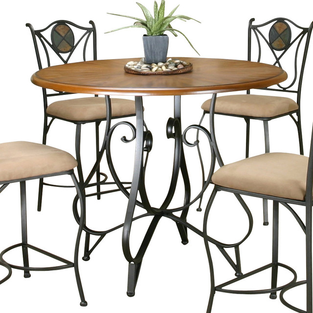 Counter Height Rustic Dining Table : All Products / Dining / Kitchen & Dining Furniture / Dining Tables